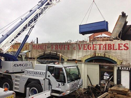 Advanced Cranes - BUILDING, CONSTRUCTION, AND GENERAL LIFTING