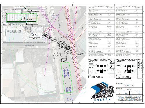 Advanced Cranes - Lift Study 20190315 Margeret St Seddon - 220 - Lift Study - Rev B
