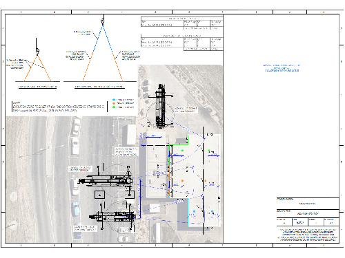 Advanced Cranes - Lift Study BP Canopy Roof - Rev K