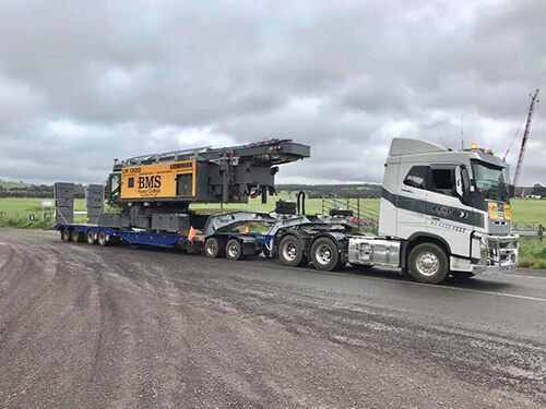 Advanced Cranes - Heavy Haulage