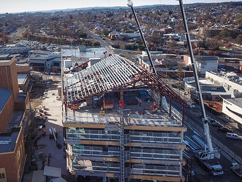 Advanced Cranes - STEEL RIGGING AND ERECTION